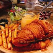 桃園-Mumu小倫敦 豐富早午餐\睡得飽飽的再來吃早午餐\