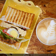 葵瑪咖啡-有著連鎖咖啡店的風格,主打咖啡、輕食有著輕鬆風格的咖啡店