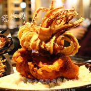 [台中♥西屯區]打啵G / 台中大隆店。♛皇冠炸雞華麗登場。品嚐大魷魚+玉米春雞+雞油糯米飯。一次到位