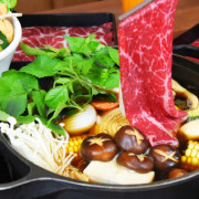 [食]桃園 夏部Shabu壽喜燒 藝文特區好湯頭火鍋 半自助吃到飽