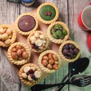 無實體店鋪的艾薇手工坊,吃了讓心情美麗的手工夏威夷豆塔