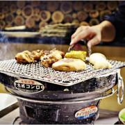 [新北中和]鹿兒島燒肉專賣店(中和中山店)|720單人饗宴套餐|前菜、綜合生魚片、義式香草雞、黑毛極上和牛小排、鹿兒島黑毛豚梅花、干貝、烤魚