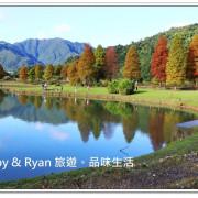 【宜蘭員山落羽松】蜊埤湖落羽松~湖畔旁的落羽松倒影好唯美!