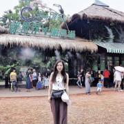新竹景點 綠世界休閒農場x用農遊券來陪草泥馬散步