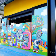 [彰化親子景點]新亮點,彩虹襪子觀光工廠!襪子娃娃DIY、繽紛彩繪牆、兒童戲沙池,免費參觀室內好去處~樂活襪之鄉博物館 樂活觀光襪廠