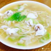 【雲林-土庫鎮】「怪人花枝鱔魚麵」土庫順天宮旁