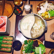 【台南】東區 ★ 涮乃葉 - 日式涮涮鍋吃到飽,店家提供非常多種類的新鮮蔬菜,在吃到飽的同時也均衡了營養