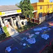 【竹東 / 藝文 】客家文創藝術村 - 彩繪巷。免費參觀 創意藝術展覽