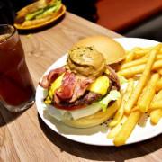 【新北。美食】 新莊 / 豐實 Cafe & Brunch,飽足感十足的美式漢堡,早午餐 / 義大利麵 / 燉飯 / 咖啡 / 輕食 / 下午茶,免費Wifi,提供插座,新莊高中對面的巷弄裡