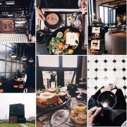 【浿淇朵*好食】宜蘭頭城黑宅BLACK HOUSE CAFE 。早午餐咖啡民宿。田野中神美的黑色建築!!!