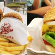【台中美食】比時地美式漢堡∞滿足、上癮、人間神級漢堡