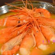【桃園市美食】活跳跳活蝦餐廳 ~ 每日直送泰國紅頭母蝦,眾多活蝦料理任你挑,海鮮餐廳內還有遊戲區及電子飛鏢機,讓你吃美食還可以放鬆一下