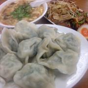 新竹小吃 金元寶餃子大王 水餃 滷味切盤 酸辣湯 Delicious boiled dumplings/hot and sour soup at Hsinchu