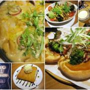 桃園 ATT筷食尚 Vasa瓦薩美式比薩~獨家美味餐點。連飲料都好好喝