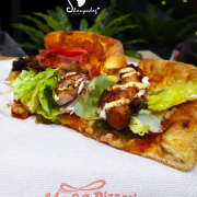 【美式餐廳】來 Vasa 瓦薩美式比薩外帶囉~
