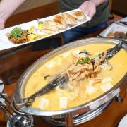 彰化139縣道美食 | 花貝勒手作料理。來自食材最原始的味道,東北黃金泡菜鱘龍烤魚,極品上菜!!!