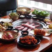 【信義區韓國烤肉】Meat Love 橡木炭火韓國烤肉:101景觀就在眼前!!頂級韓式烤肉鮮嫩多汁