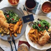 【食記∥板橋】Lidée Café 樂點咖啡 捷運板橋站_蔬食餐點健康好吃還好拍_大理石與乾燥花一次擁有