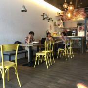 【台北中山區食記】森漢堡 早午餐 漢堡 三明治 黑炭可頌麵包 寵物友善餐廳