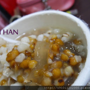 【台南 郭 綠豆湯】綠豆薏仁湯,煮的剛剛好,配上粉角,好好食~~