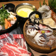 台東美食-湯蒸火鍋專家 超豪邁巨無霸超猛海鮮