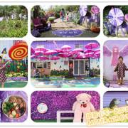 苗栗美食-噢哈娜咖啡屋 浪漫紫藤花的魔法咖啡屋 網美妹妹最喜愛的拍照景點