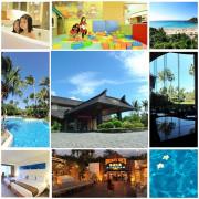 <墾丁飯店>藍天白雲,椰林樹影的墾丁凱撒飯店