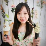 純白花花世界,蜜蜂女孩快來吃冰!!-「The Corner美式手作霜淇淋」