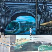 【詩舒曼蠶絲文化園區時空之城】2018高雄超夯熱門打卡景點/全台最大3D地景壁景藝術/來趟奇幻穿越之旅