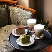 【台中美食】亨利貞精品咖啡館 穿越時空到老上海咖啡廳 Henry Jane Coffee 質感復古風 精品單品咖啡 千層蛋糕甜點 大里美食