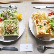 台中北屯區早午餐︳隱巷 in shine,隱藏在巷弄的手作吐司料理