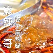 桃園美食【麻辣一哥養生麻辣鍋】道地川味 香濃雞湯 愛吃辣就是這鍋