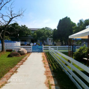 *旅遊*苗栗苑裡 寵物跑跑避暑勝地 【狗狗水世界】