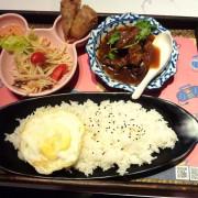 經濟實惠,口味精緻-台北公館商圈泰國料理餐廳Chic Thai 泰式新定食体驗心得