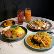 【台中美食】N.N.Thai Thai 東海必吃美食攻略 CP值超高的泰式料理 網美工業風裝潢 台中龍井區美食 必點泰式咖哩