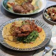 台中美食|N.N. ThaiThai-網美森林系餐廳,最推泰式椒麻雞