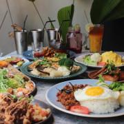 台中美食|N.N. ThaiThai-東海最美泰式料理餐廳,置身叢林的用餐環境