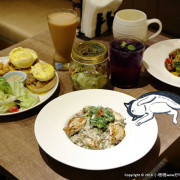 【食。永和】貓子曬太陽〜親子寵物友善餐廳。隱身巷弄的老宅且充滿歐風餐廳氛圍,CP值高的創意義式料理+早午餐