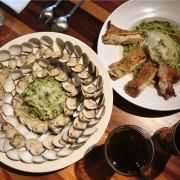 諾諾索 Non Lo So。台中北區中友百貨巷弄黃色貨櫃屋餐廳,麵是配菜,蛤蠣才是主餐啊!