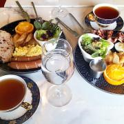 斗六homescrew bistro。感受皇家陶瓷餐具盛裝的藝術饗宴。品嚐經典早午餐