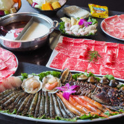 [高雄火鍋推薦]舞古賀鍋物專門店-平價爽吃高級肉和海鮮滿滿痛風蝦爆套餐 - 美食好芃友