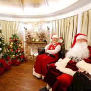 最美室內聖誕城,網美手刀快來拍,中壢大江購物中心,抓到野生聖誕阿公 - 老爺爺與小老婆