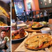 【新竹美食】竹科人聚餐聊天的好地方《LALA KITCHEN》披薩還有海膽燉飯好吃~豬腳也不要錯過啊!