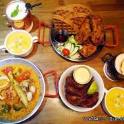 【新竹聚餐餐廳】LALA KITCHEN美式餐廳  美國南方菜大份量  楓糖炸雞鬆餅