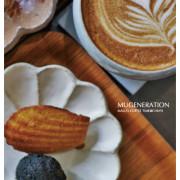 《嘉義東區》木更咖啡Mugeneration│結合設計、甜點與傢俬的摩登水泥風咖啡館