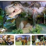 恐龍特展【侏儸紀恐龍樂園】會動會叫的恐龍,就在華山1914等你唷!搭上吉普車前往叢林樂園,再騎上3公尺大恐龍,還有超萌的恐龍寶寶見面會!