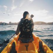 花蓮水上活動-刺激的獨木舟