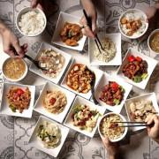 【微風南山│金葉紅廚篇】給嗜辣外食族的飲食新提案 美食街竟能吃川菜桌菜?排隊有理!  這些菜通通上,不到1200元足夠六人共享!