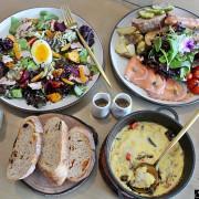 台中美食|在T.R Kitchen法式早午餐-大坑店享受冬日陽光灑落與健康美味的早午餐,不收服務費,還有可愛的網美牆可以拍照留念|大坑美食|台中法式早午餐推薦