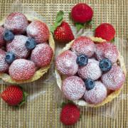 嘉義點心甜點推薦尚一豆烘焙坊/隱藏版平價甜點冬季限定草莓上市,太保市小葉欖仁綠色隧道內